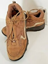 Propet Women's Leather Lowtops Athletic Lace Up Shoes Tan Size 7 New