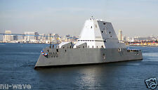 U.S. NAVY-Guided-Missile destroyer USS Zumwalt  the Navy's Most Advanced Ship