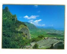 Nu'Uanu Pali, Oahu Hawaii  Pali lookout used postcard 1991