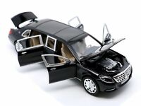 New 1:24 Mercedes Benz Maybach S600 Diecast Model Car Toy Collection Sound&Light