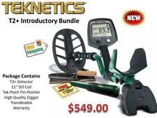 Teknetics T2 Plus Metal Detector Bundle FREE Shipping