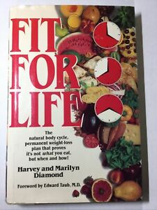 FIT FOR LIFE, Copyright 1985 Harvey & Marilyn Diamond, Long Life HB/DC