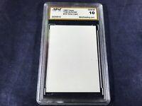 T3-50 BASEBALL CARD - TOM GLAVINE BRAVES ERROR CARD - 1989 TOPPS - GRADE 10
