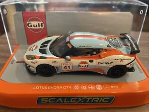 SCALEXTRIC C4183 GULF EDITION LOTUS EVORA GT BOXED DPR