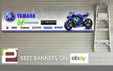 Yamaha Racing Banner, Sponsor Logos, Moto GP, Workshop, Garage, Valentino Rossi