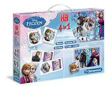 Clementoni 134953 Edukit 4-in-1 Frozen die Eiskönigin