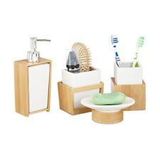 Sets d'accessoires en céramique pour la salle de bain