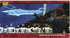 Star Wars Clone Wars Widevision Silver Stamped Parallel Base Card [500] #9