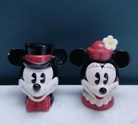 Mickey & Minnie Mouse Enesco Salt And Pepper Shakers Disney Malaysia