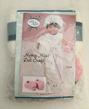 Annie's Hook & Needle Kit Doll Outfit Nighty Night Crochet New Retired