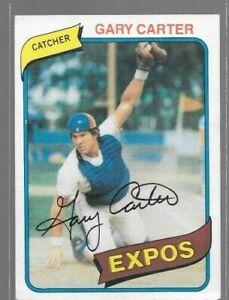 1980 Topps Baseball Finish Your Set