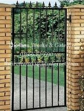 "STRONG SECURITY GATE SAXON SINGLE/GATES 40"" OPENING x 5' TALL MADE TO MEASURE"