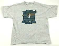 VINTAGE Peanuts Snoopy Shirt JOE COOL Fishing Tee Single Woodstock 1971 USA MADE