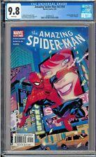 Amazing Spider-Man v2 #54 #495 CGC 9.8 White Pages John Romita Jr.