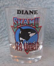 Diane Shamu Killer Whale Sea World Souvenir Shot Glass