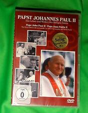 Papst JOHANNES PAUL II - Das Leben und Wirken des HEILIGEN Vaters > DVD > OVP