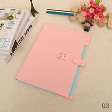 Stationery Bag A4 Folder Paper File Document Filing School Office Supply Blue