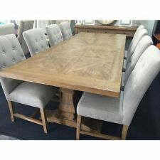 Round Solid Wood Dining Furniture Sets