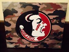"Florida State University Seminoles Mascot Logo Canvas 16"" X 20"""