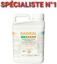 Désherbant GlyphosaT RADIKAL GREEN 5L sel d'isopropylamine36%p/v(360g/l)ENVOI24H