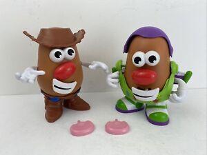 Disney Mr Potato Head Toy Story Woody & Buzz Lightyear Figures