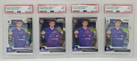 2019-20 Prizm EPL Premier League #30 Christian Pulisic RC Mint PSA 9 Lot Of 4