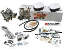 Weber Carburetor Conversion Kit VW Bug & Type 1 Dual 44 IDF