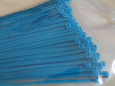 100 BLUE CABLE TIES IOOmm X 2.5mm
