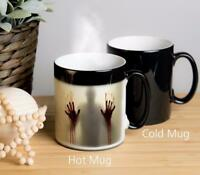 Zombie Magical Colour Changing Mug. Image appears when hot