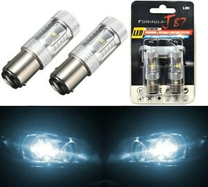 LED Light 30W 1157 White 6000K Two Bulbs Stop Brake Replacement Upgrade Lamp OE