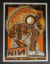 "Nine Inch Nails 2018 Vegas ""Opal Metallic"" Silkscreen Concert Poster (S/N Of 60)"
