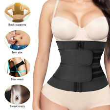 Women Waist Trainer Sweat Body Shapers Tummy Control Cincher Girdle Slimmer Belt