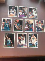 1994-95 Fleer Basketball Team Set: Charlotte Hornets
