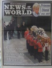 PRINCESS DIANA NEWS OF THE WORLD MEMORIAL EDITION SEPTEMBER 7TH 1997