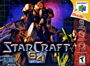 StarCraft 64 - Nintendo N64 - Cart Only - New Condition - Free Shipping - USA