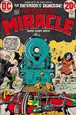 "Jack Kirby Mister Miracle Number 13 March-April 1973 ""The Dictator'S Dungeon"""