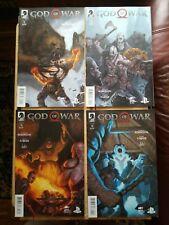 GOD OF WAR #1 2 3 4 Dark Horse Complete Set NM/VF Playstation Game Series Set