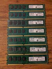 Crucial 4GB  PC3-12800 DDR3 1600 Desktop PC Memory CT51264BA160BJ.C8FER