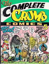 THE COMPLETE CRUMB COMICS VOL. 5  - Ed. original en ingles, 1ª Ed. 1990