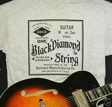 BLACK DIAMOND GUITAR STRINGS T-SHIRT XXXL