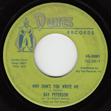 RAY PETERSON - Dunes 2009 - Why Don't You Write Me - 1961 TEEN / SPECTOR 45