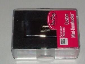 Seymour Duncan SM-2 Custom Mini Humbucker Bridge Pickup NICKEL New with Warranty