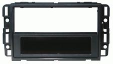 Mascherina con foro ISO/Doppio Iso/Doppio DIN colore nero Hummer H3/Saab 9.7X