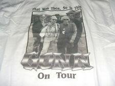 GONN on Tour men's LARGE T-Shirt NEW cream Garage Rock