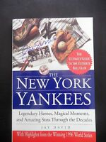 Joe DiMaggio Signed 1997 The New York Yankees Softcover Book AUTO JSA LOA HOF