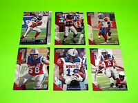 6 MONTREAL ALOUETTES UPPER DECK CFL FOOTBALL CARDS 43 44 48 50 52 129  #-3
