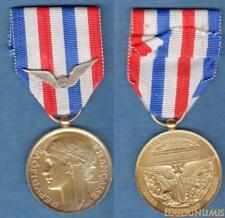 Médaille Militaire - Aéronautique Vermeil Travail Dévouement Honneur