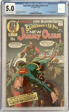 SUPERMANS PAL JIMMY OLSEN #134  -  CGC VG/FN (5.0) 1ST APP DARKSEID / OWW PAGES