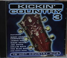 Mary Chapin Carpenter Wake Hayes Mavericks etc Kickin Country 3 1995 Sony CD