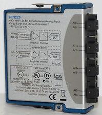 *New* National Instruments Ni 9229 Analog Input Module